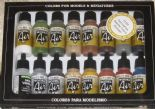 VAL71191 Model Air Set - Railway Colors Europe (x16)